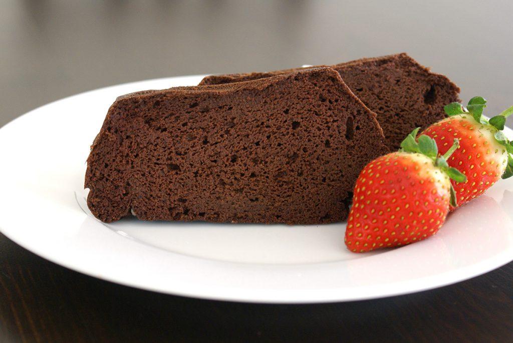赤いんげん豆のチョコレートケーキ