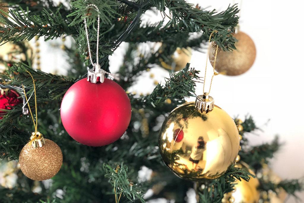 iPhone Xで撮ったクリスマスツリー