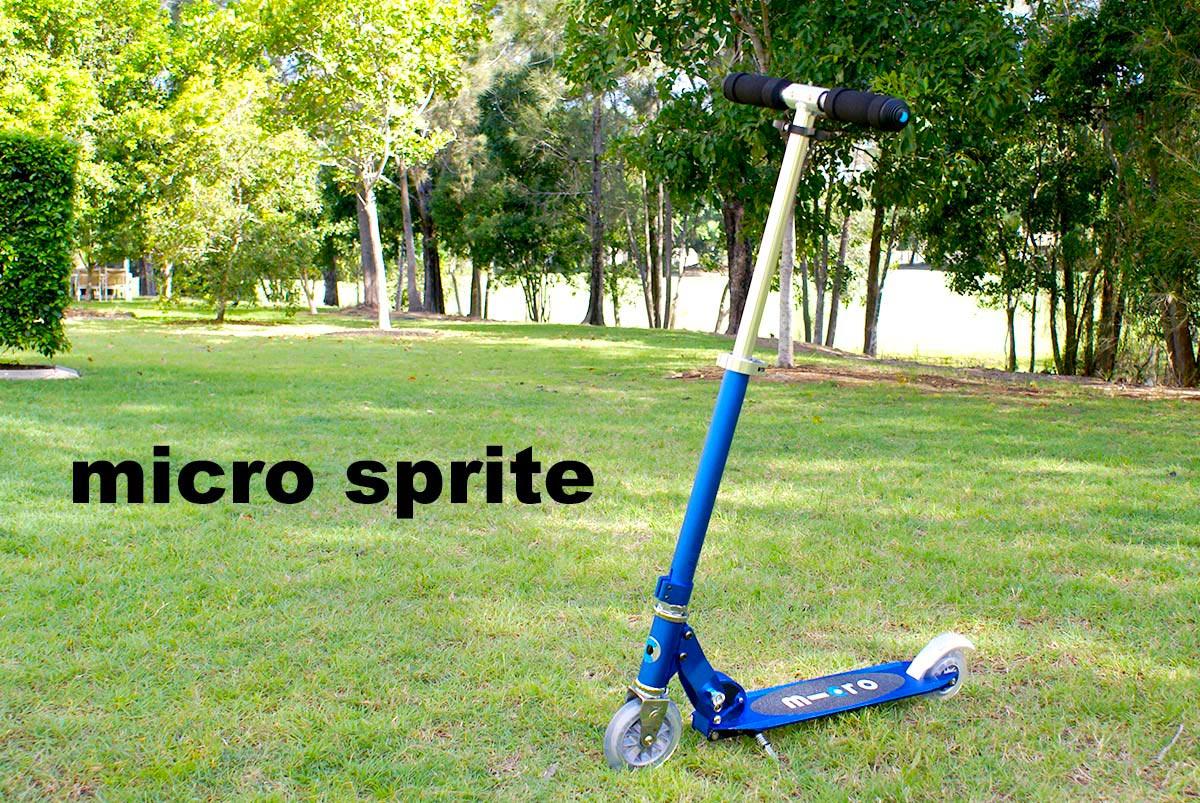 スクーターmicro-sprite