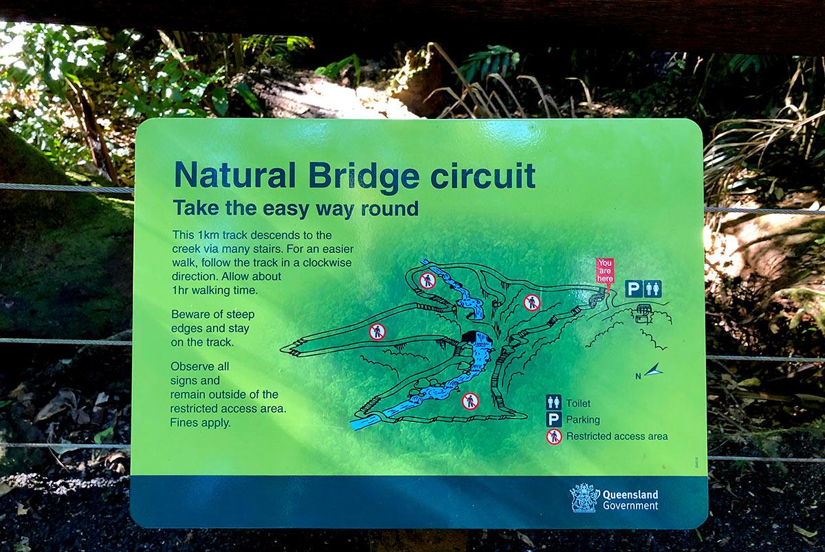 スプリングブルック国立公園ナチュラルブリッジ