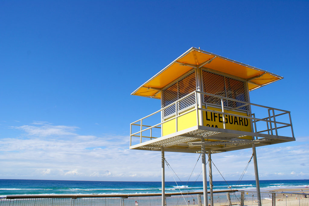サーファーズパラダイスビーチ