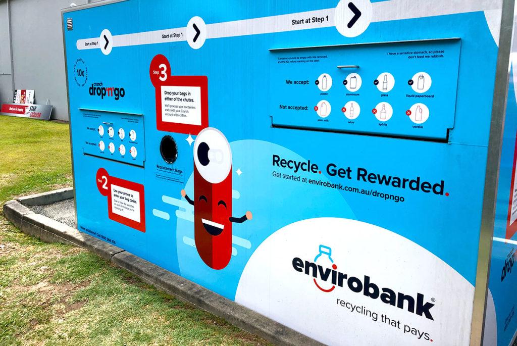 ゴールドコーストのリサイクルシステム