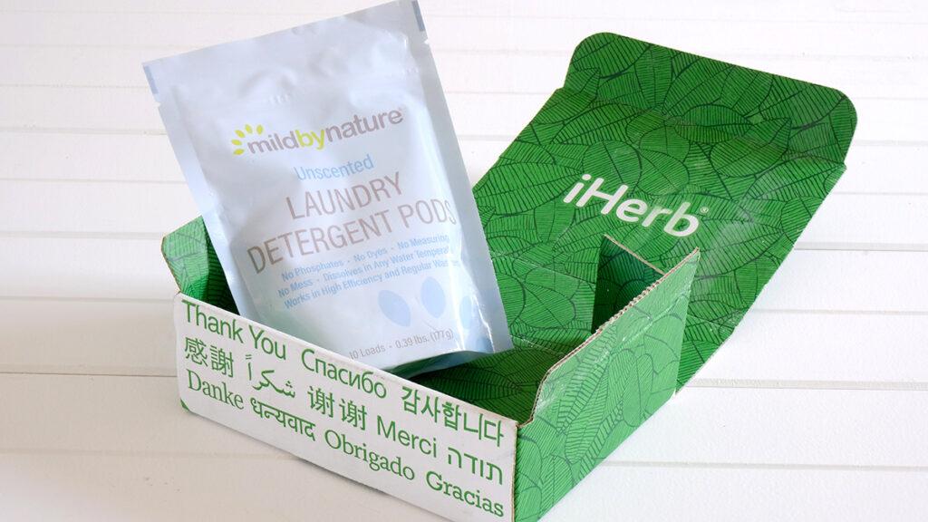 iHerb洗濯洗剤ジェルボール無香料